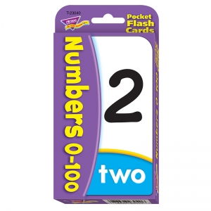 Numbers 0100 Pocket Flash Cards