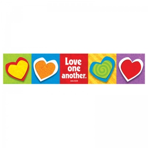 BANNER LOVE ONE ANOTHER