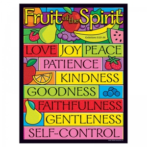 LEARNING CHART FRUIT OF THE SPIRIT
