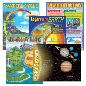COMBO PKS EARTH SCIENCE INCLUDES  T38057 T38058 T38087 T38118&T38119