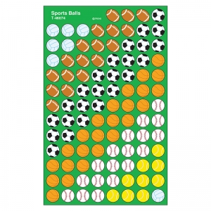 Sports Balls superShapes Stickers, 800 ct