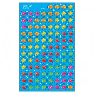 SUPERSPOTS STICKERS FUN FISH