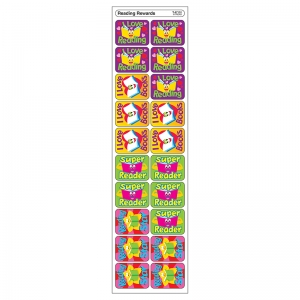 APPLAUSE STICKERS READING 100/PK  REWARDS ACID-FREE