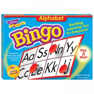 BINGO ALPHABET AGES 4 & UP