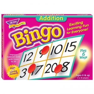 BINGO ADDITION AGES 6 & UP