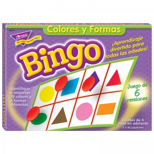 Colores y Formas (SP) Bingo Game