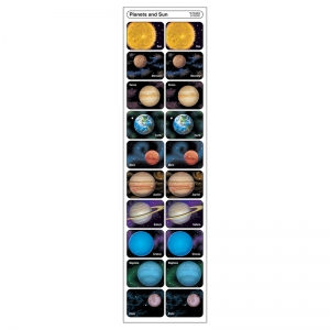 PLANETS AND SUN DISCOVERY STICKERS