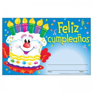 AWARDS FELIZ CUMPLEANOS PASTEL  SPANISH HAPPY BIRTHDAY CAKE