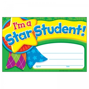 IM A STAR STUDENT STAR MEDAL  RECOGNITION AWARDS