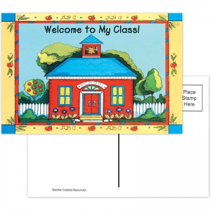 SCHOOLHOUSE WELCOME 30PK POSTCARDS  4X6