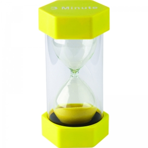 LARGE SAND TIMER 3 MINUTE