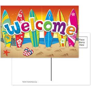 SURFS UP WELCOME POSTCARDS