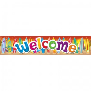 SURFS UP WELCOME BANNER