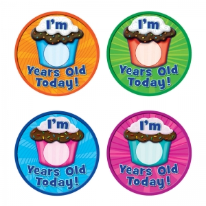 I AM YEARS OLD TODAY WEAR EM BADGES