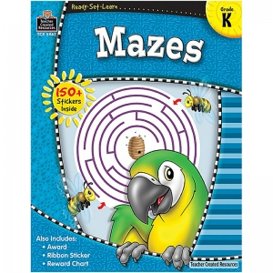 READY SET LEARN MAZES KINDERGARTEN