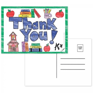 THANK YOU POSTCARDS - FULL COLOR
