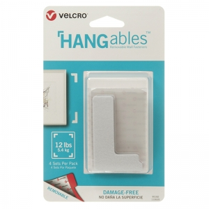 HANGables 3in x 1 3/4in corners.4 ct.6/24