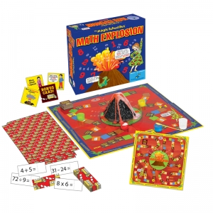 THE MAGIC SCHOOL BUS MATH EXPLOSION  GAME
