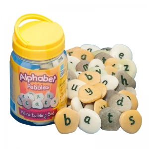 Alphabet Pebbles, WordBuilding Set