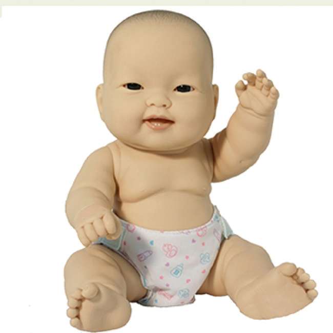 LOTS TO LOVE BABIES 14IN ASIAN BABY