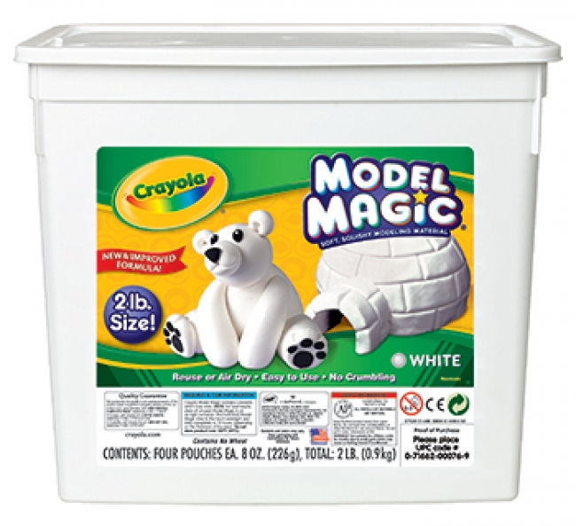 2LB RESEALABLE BUCKET MODEL MAGIC  MODELING COMPOUND