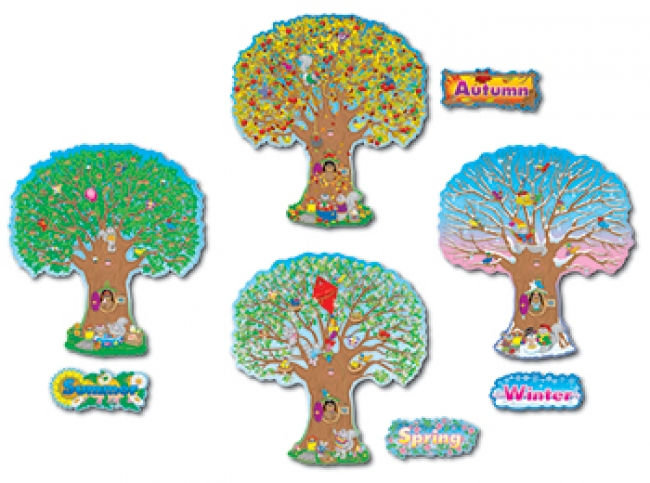 BB SET FOUR SEASON TREES 4 - 25T