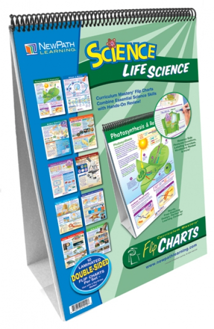 MIDDLE SCHOOL LIFE SCIENCE FLIP  CHART SET