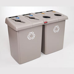 GLUTTON 4-STREAM RECYCLING STATION BEI
