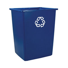 GLUTTON CONTAINER W/RECYCLING SYMBOL