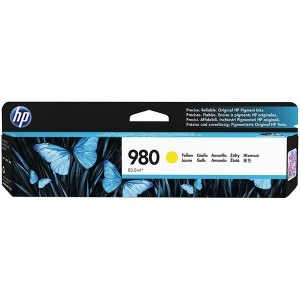 HP 980 Yellow Original Ink Cartridge for US Government (6,600 Yield) (TAA Compliant Version of D8J09A)