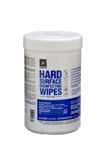 Hard Surface Disinfecting Wipes Fresh Scent - 125 Wipes 6/Case