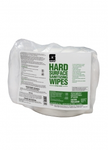 Hard Surface Sanitizing Wipes - 1000 Wipes 2/Case
