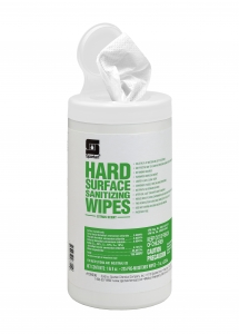 Hard Surface Sanitizing Wipes - 225 Wipes 6/Case