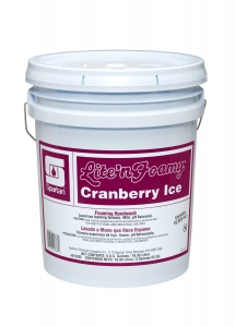 Lite'n Foamy Cranberry Ice - 5 Gal Pail