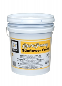 Lite'n Foamy Sunflower Fresh - 5 Gal Pail