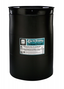 Lite'n Foamy Citrus Fresh - 55 Gal Drum