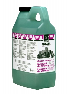Green Solutions  Carpet Cleaner  104 - 2 Liter 4/Cs