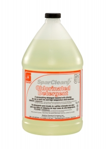 SparClean Chlorinated Detergent  51 - 1 Gal 4/Cse
