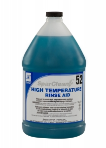 SparClean High Temperature Rinse Aid  52 - 1 Gal 4/Cse