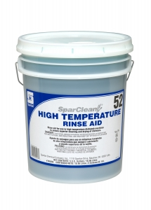 SparClean High Temperature Rinse Aid  52 - 5 Gal Pail