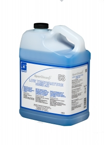 SparClean Low Temperature Rinse Aid w/Insert - 1 Gal 4/Cse F-Style