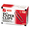 Paper Clips, Medium (No. 3), Silver, 1000/Pack