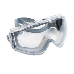 1Stealth Antifog, Antiscratch, Antistatic Goggles, Clear Lens, Gray Frame