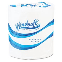 Single Roll Bath Tissue, 500 Sheets/Roll, 96 Rolls/Carton