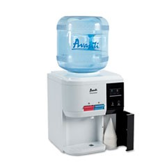Tabletop Thermoelectric Water Cooler, 13.25 dia. x 15.75 h, White