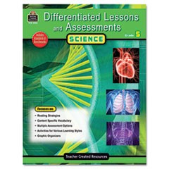 Differentiated Lessons and Assessments, Science, Grade 5, 224 Pages