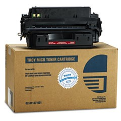 0281127001 10A Compatible MICR Toner, 6,300 Page-Yield, Black