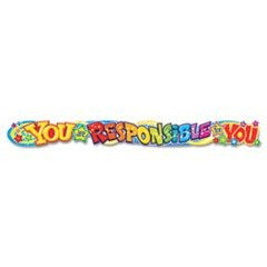 Quotable Expressions Wall Banner, You Are Responsible For You, 10 ft