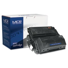 Compatible with Q1339AM MICR Toner, 18,000 Page-Yield, Black