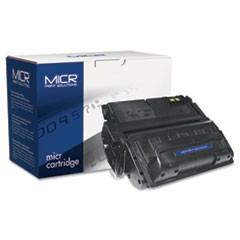 Compatible with Q5942AM MICR Toner, 10,000 Page-Yield, Black